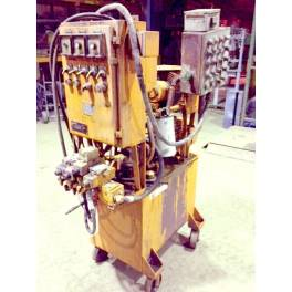 HALL PORTABLE HYDRAULIC UNIT (A2986) SOLD