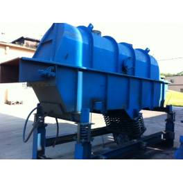 CARRIER 60 TON/HR AIR COOLED FLUID BED SAND COOLER  (A3071)