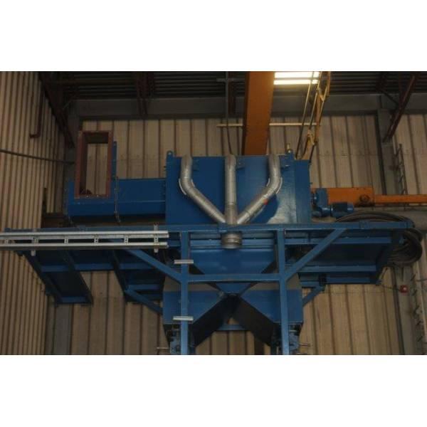 Wheelabrator Bcp Mesh Machine Xs3270 Sold Les