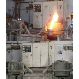 PILLAR - INDUCTION FURNACE 100 KW. (X8B3445)