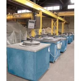 Used 575 Kg Morgan Melting and Holding Electric Resistance Furnace (XC3466)