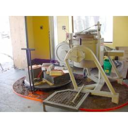 Sand casting setup used for Bronze (X2S2598-1)