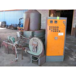 UPTON gas fired pot furnace (XAB5556)