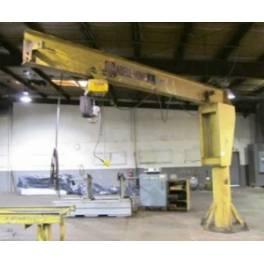 ABELL HOWE 2 ton JIB crane (A2789)